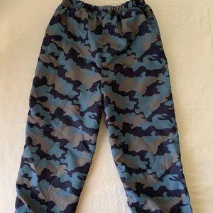 camouflage boys pants